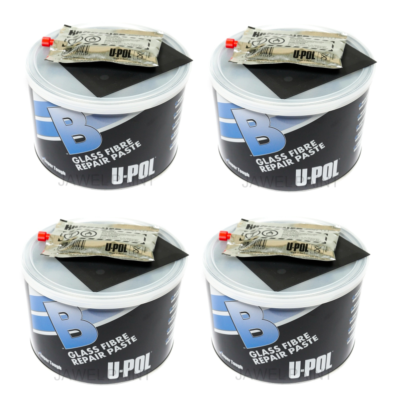 U-POL 'B' Fibre Glass Repair Paste 4 x 1LT
