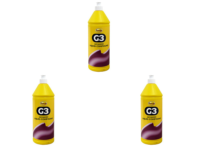 Farecla G3 Liquid Cutting Compound 1 Litre PK3